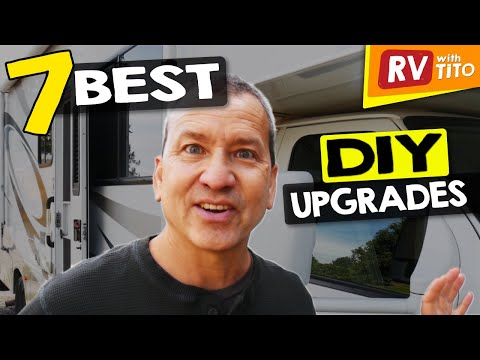 7 DIY RV Upgrades That Had The BIGGEST IMPACT