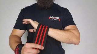 Tutorial: How to wrap Inzer Wrist Wraps