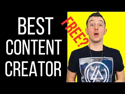 Best Article Writer Software: How To Create Unique Content In 60 Sec. For FREE