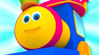 Bob The Train Nursery Rhymes & Kids Songs | Baby Song | Learning Videos | Children Cartoon