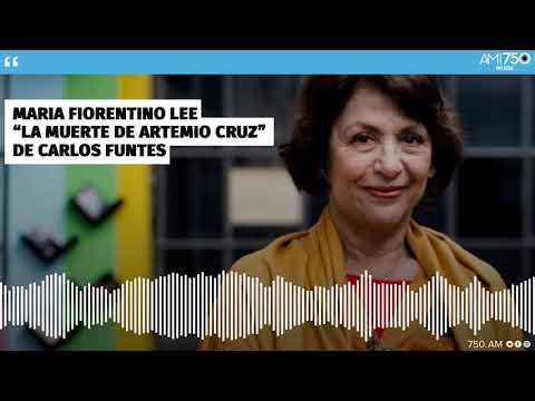 """María Fiorentino: """"La muerte de Artemio Cruz"""" de Carlos Fuentes."""