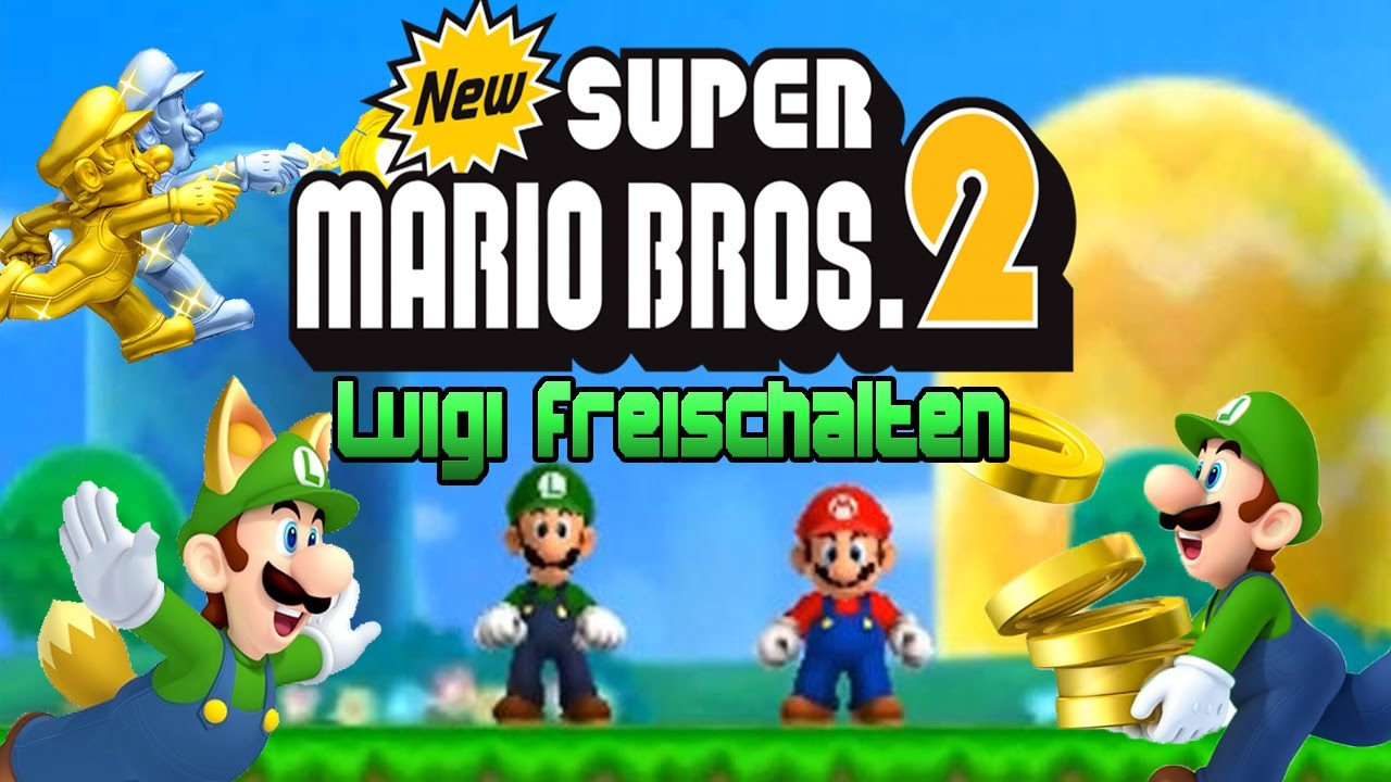 New Super Mario Bros 2 Luigi In New Super Mario Bros 2