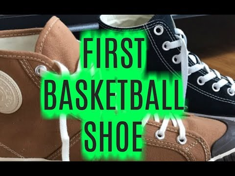 THE WORLDS FIRST BASKETBALL SHOES!