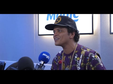 What's Bruno Mars' favourite UK restaurant?