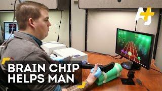 Paralyzed Man Plays Guitar Hero
