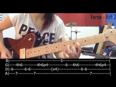 Video Aula: Ain't it Fun - Paramore (How to play)
