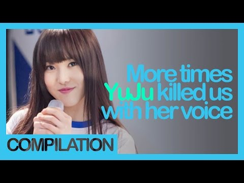 GFriend YuJu, more times she killed us with her voice (part 2)