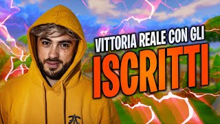 SPECTACULAR ROYAL VICTORY WITH SUBSCRIBERS! FORTNITE ITA