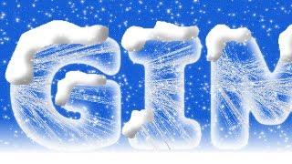 GIMP 2.8 Tutorial - Ice Text