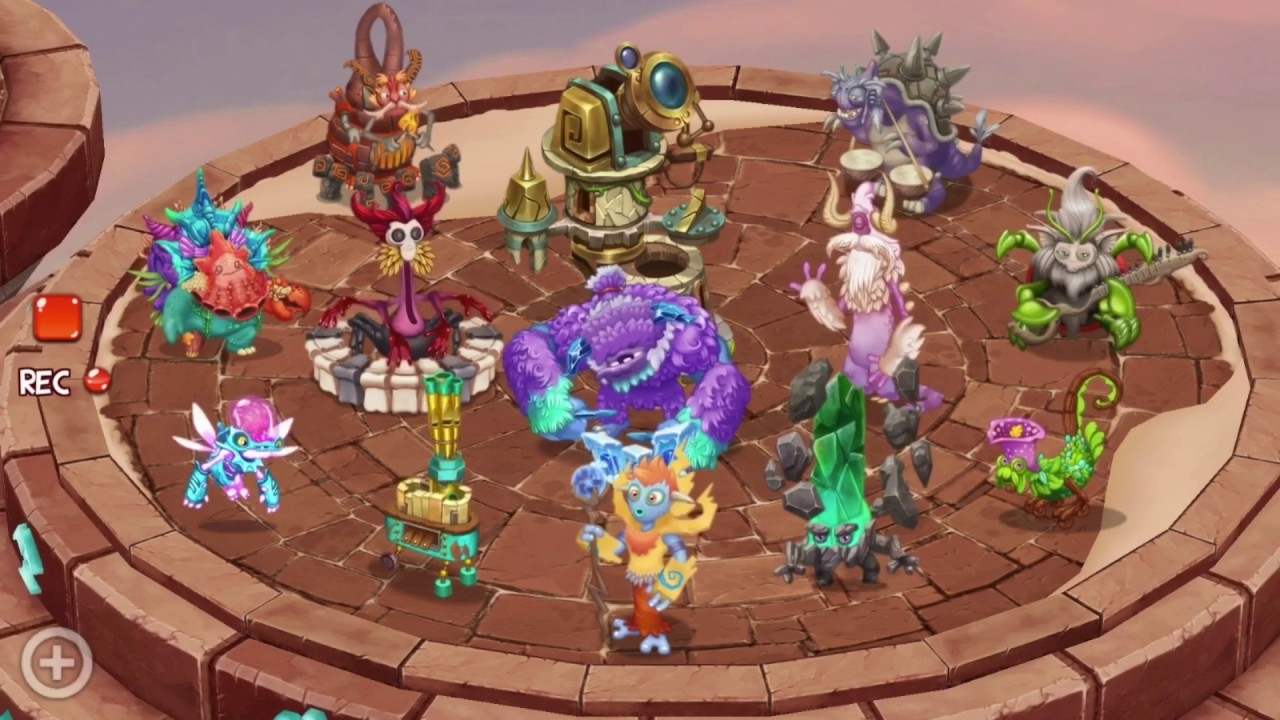 Fire Monsters Cave My Monsters Island Dawn Singing