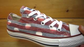 Converse All Stars Striped Polka Dot