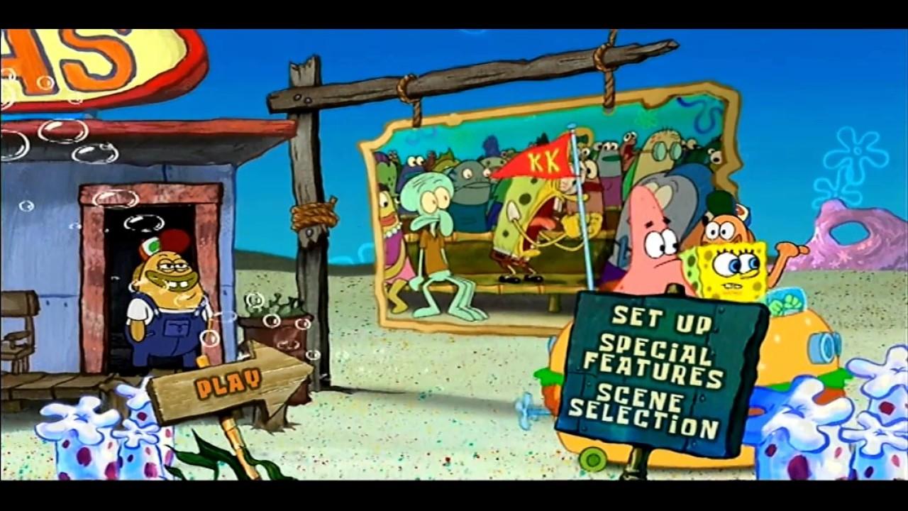 Spongebob Spongebob Movie Opening to The SpongeBob SquarePants Movie 2005 DVD