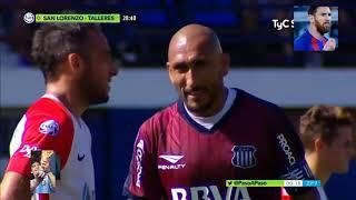 SAN LORENZO VS TALLERES - PASO A PASO 4-11-2018