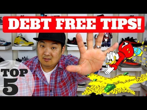PAID OFF $100k IN DEBT! TOP 5 TIPS TO BE DEBT FREE!