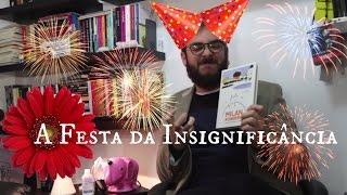 Vlog do Livrada! ep. #05: A Festa da Insignificância, de Milan Kundera