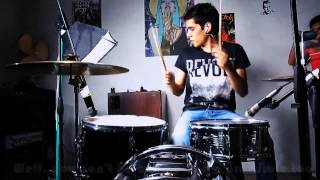 luis reyes the white stripes icky thump drum cover lyrics