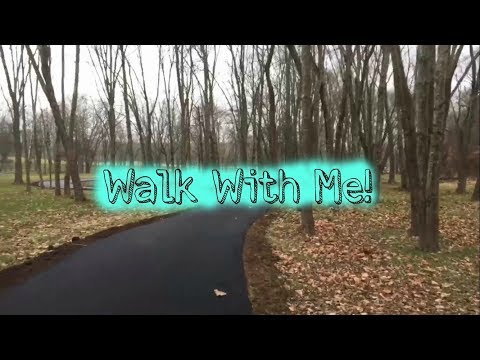 A Rainy Day At The Park   Walk Through The Park With Me   Walking For Weight Loss