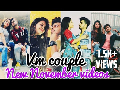 Download vm couple latest videos||vishu and mehak new reels|new best couple videos|vm couple romantic videos