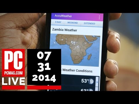 PCMag Live 07/31/14: Internet.org App Launches in Zambia & BitTorrent's Serverless Chat Client