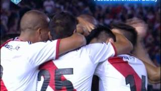 River 5 Quilmes 0 (Relato Mariano Closs) Torneo Final 2014 River Campeon