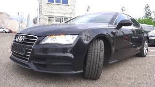 2012 Audi A7 Sportback. Start Up, Engine, and In Depth Tour.
