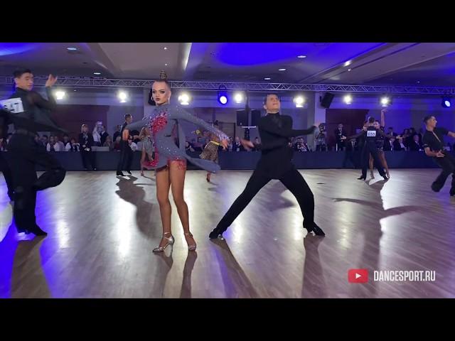 Savely Dobriakov - Varvara Rudentsova RUS, Jive / DanceSport Cup, Benidorm