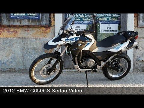 MotoUSA 2012 BMW G650GS Sertao - YouTube