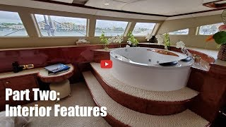 Walkthrough of a Sunreef 82 catamaran for sale Houbara Part 2 Interior Features