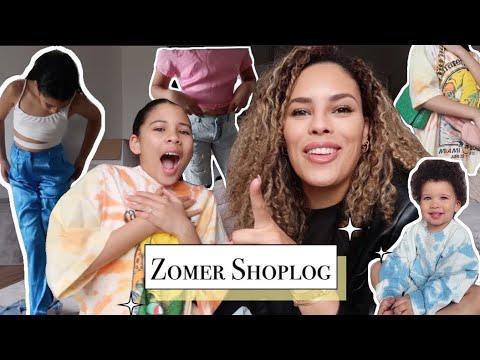 Download ZOMER SHOPLOG 2021  H&M - Zara - Berska - Bijenkorf
