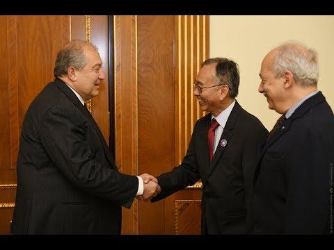 Արմեն Սարգսյանը հյուրընկալել է «Սինոփսիս»-ի և «Սինոփսիս Արմենիա»-ի ղեկավարներին