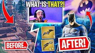 Nickmercs Reacts To BATMAN IN FORTNITE?! Gotham City Is HERE!