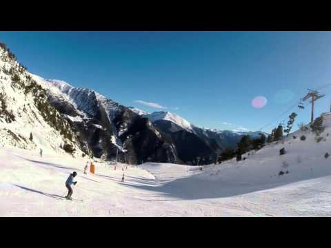 Andorra Vallnord Ski Jan 16