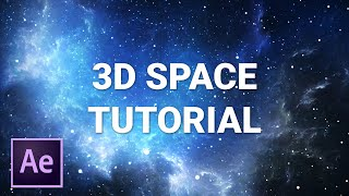 After Effects 3D space tutorial