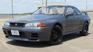 1990 Nissan Skyline GT-R (R32) Start Up, Test Drive, and In Depth Review