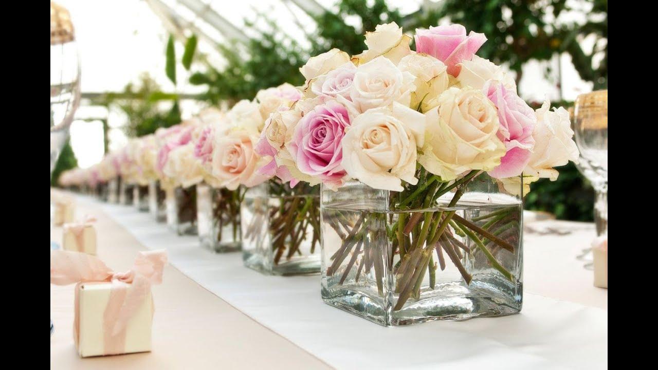 Arreglos florales para boda YouTube