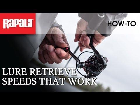 Lure Retrieve Speeds That Work | Rapala Fishing Tips
