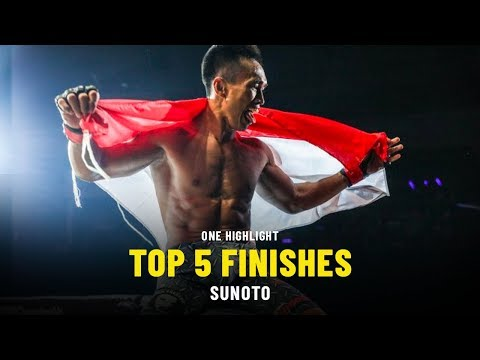 Sunoto's Top 5 Finishes | ONE Highlights