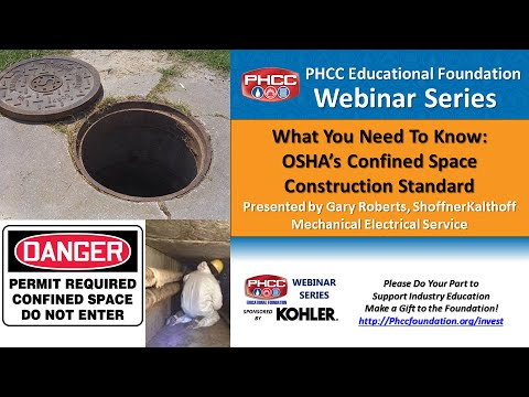 OSHA's Confined Space Construction Standard