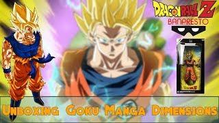 Unboxing #7 Goku SSJ Manga Dimensions Grandista