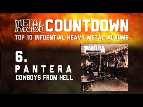 6. PANTERA Cowboys From Hell -  Top 10 Influential Heavy Metal Albums Metal Injection