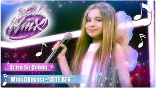 """Winx Club Winx Dünyası 2 Ecrin Su Çoban """"İşte Ben"""" şarkısını seslendiriyor!"""