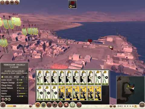 Rome total war 2: Arabian campaign part 1 (Not Canceled)