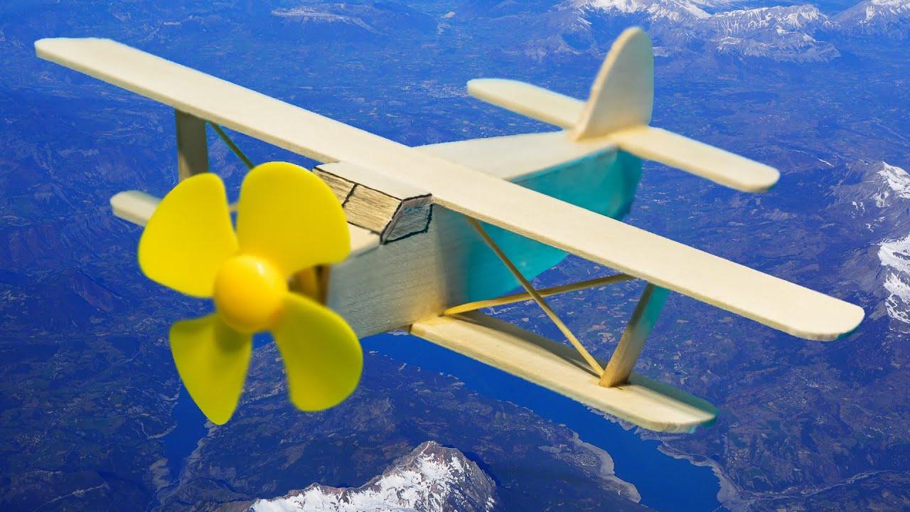 Как сделать САМОЛЕТ АН-2 (Кукурузник) своими руками. DC Motor DIY. Деревянные игрушки самолет