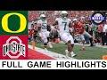 #12 Oregon vs #3 Ohio State Highlights | College Football Week 2 | 2021 College Football Highlights
