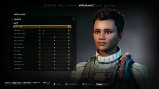 Outer Worlds #01 Character Creation Preview Gameplay 4K