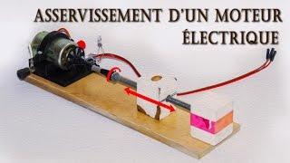 Asservissement d'un moteur électrique avec un capteur incrémental