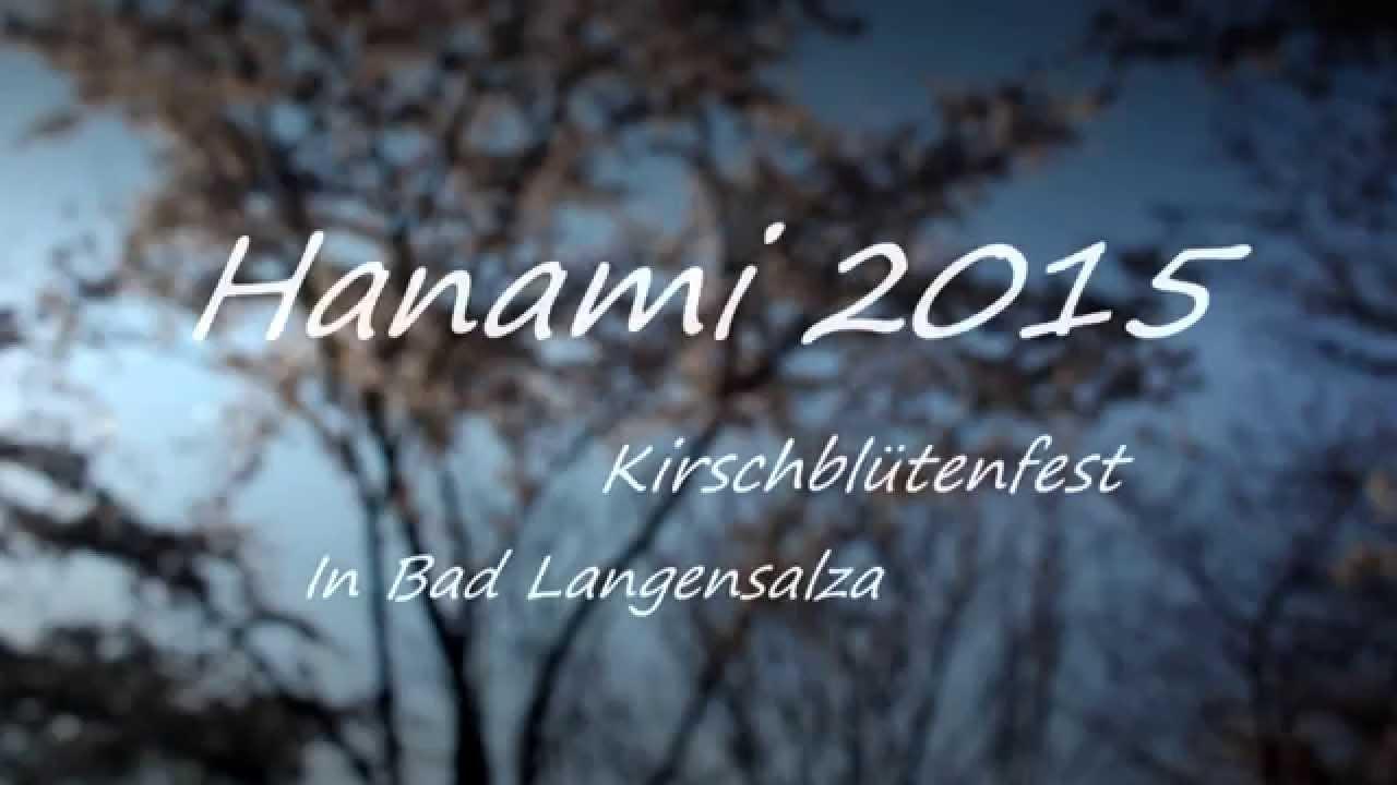Hanami Kirschblütenfest 2015 Der Japanische Garten Bad