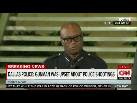 Chief David Brown gives update on killing of Dallas suspect, says suspect wanted to kill white cops