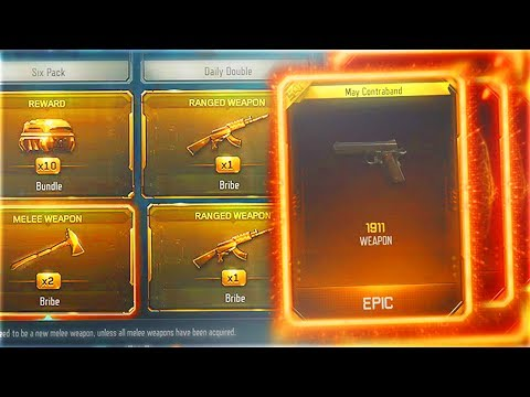 4 FREE DLC WEAPONS IN 1 TRIPLE PLAY SUPPLY DROP.. (Black Ops 3 TRIPLE PLAY CONTRACT Reaction)