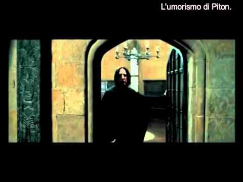 Il gladiatore Severus Piton – L'umorismo di Piton